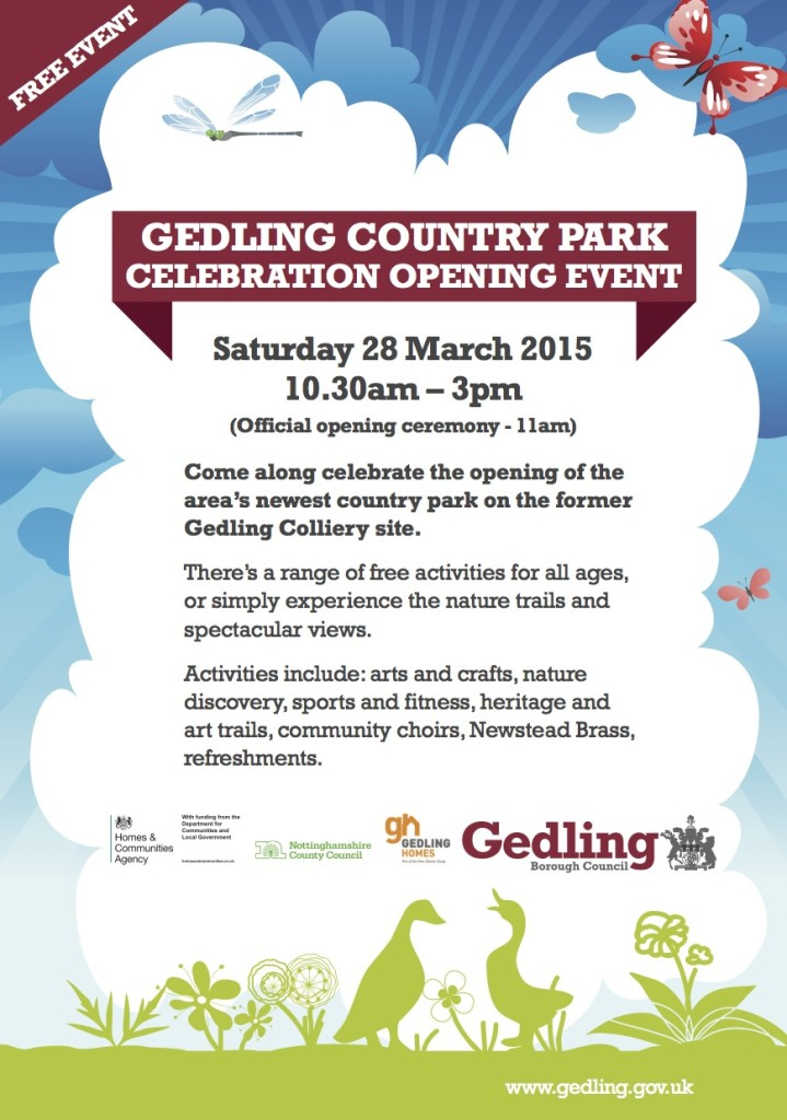 Opening - Gedling Country Park
